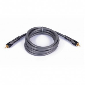 Cable SPDIF coaxial audio RCA (M / M) - 1,5 metros