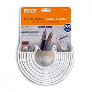 Cable Coaxial de 25 metros (Colgable)