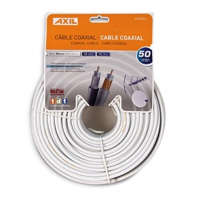 Cable Coaxial de 50 metros (Colgable)