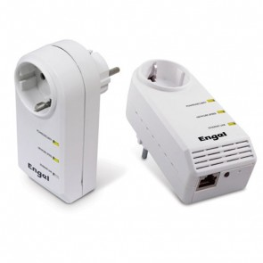 Kit Powerline Internet 200Mbps (Transmisor + Receptor)