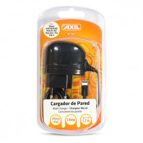 Cargador de pared con cable Apple lighting (1.2m)
