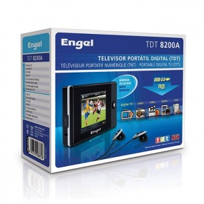 TV multimedia portátil ENGEL TDT8200 2,4