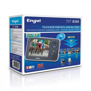 TV multimedia portátil ENGEL TDT8300 3,5